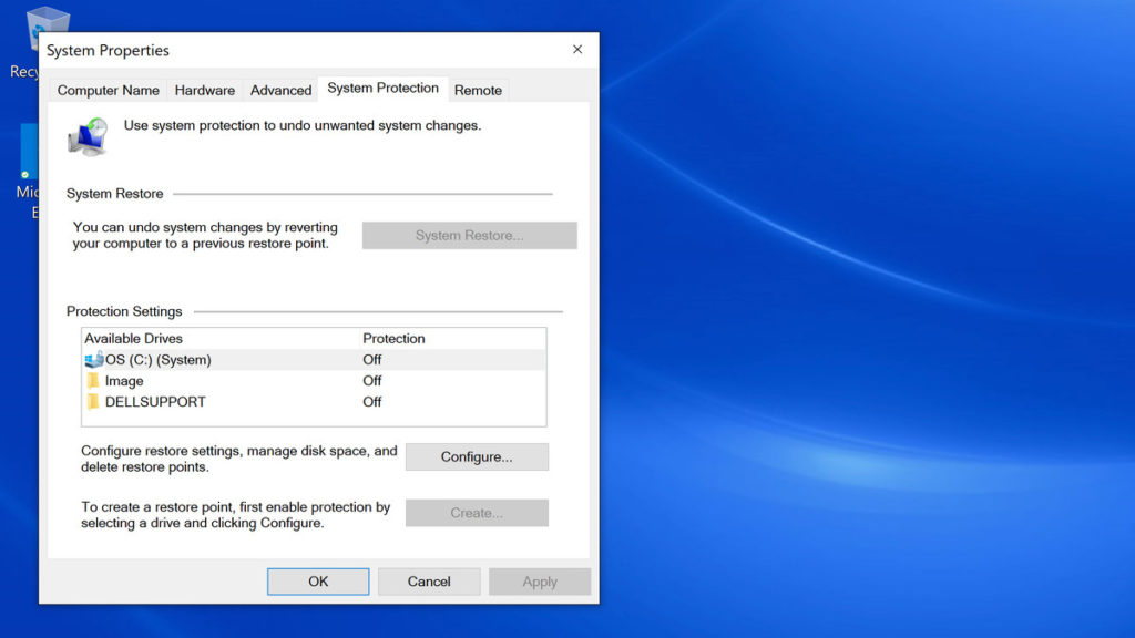 restaurar Registro Windows 2