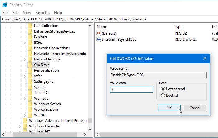 Solución OneDrive no inicia en Windows