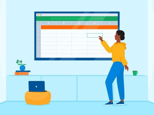 ¿Cómo añadir una línea de título en una hoja de cálculo de Excel?