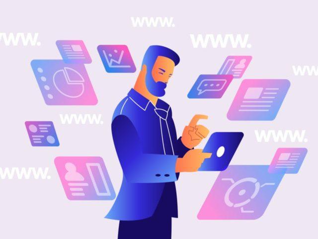 ¿Cómo las empresas online categorizan sus sitios web?