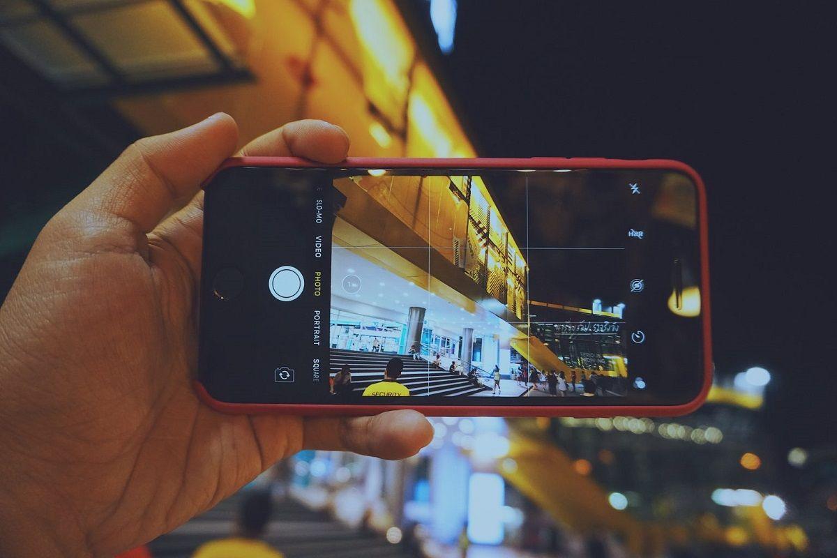 Fotografías noche iPhone 1