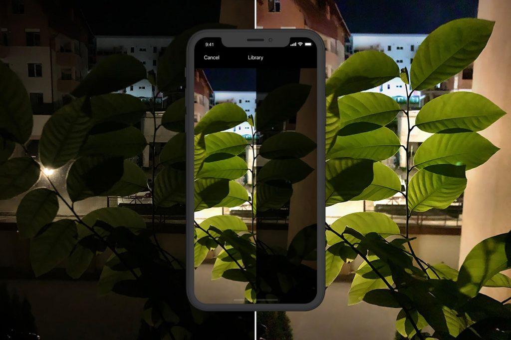 Fotografías noche iPhone 5