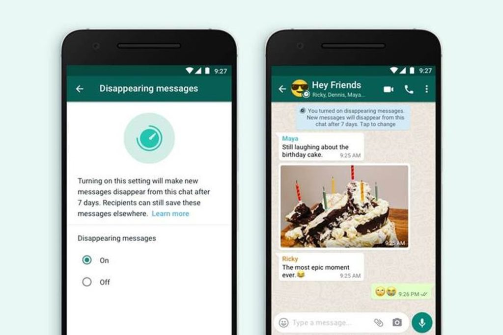 WhatsApp mensajes efímeros 2