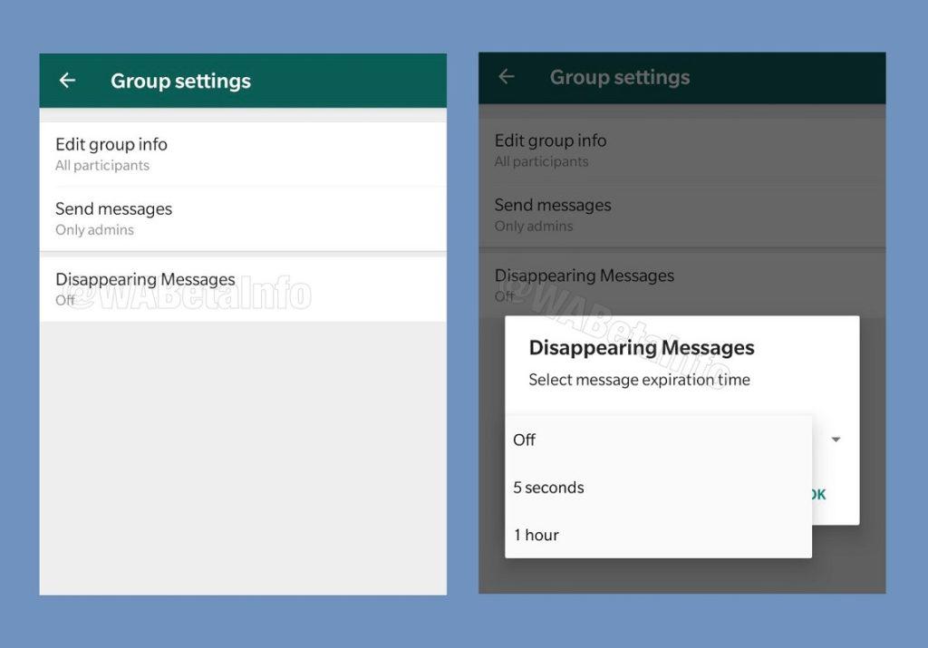 WhatsApp mensajes efímeros 4