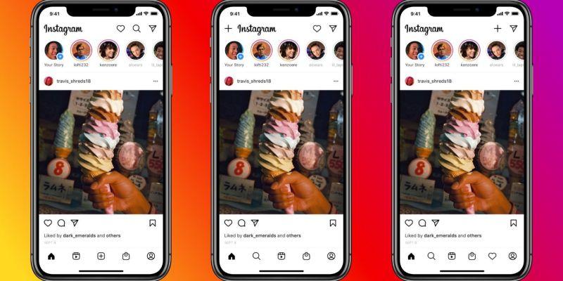 actualización de instagram agrega pestaña carretes tienda