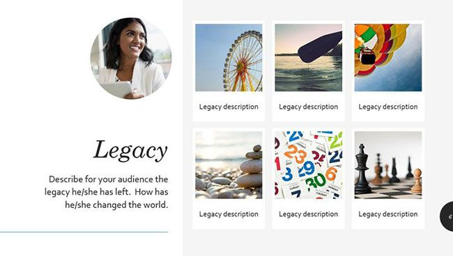 Biography Presentation PowerPoint Template