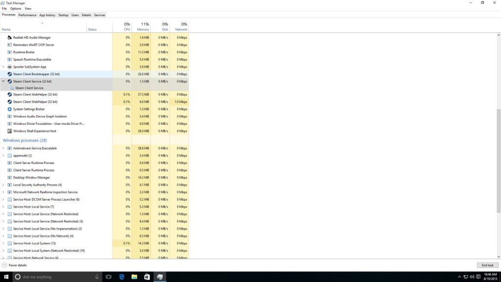 uso RAM Steam 2
