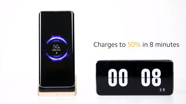 cargador inalámbrico Xiaomi 80 vatios