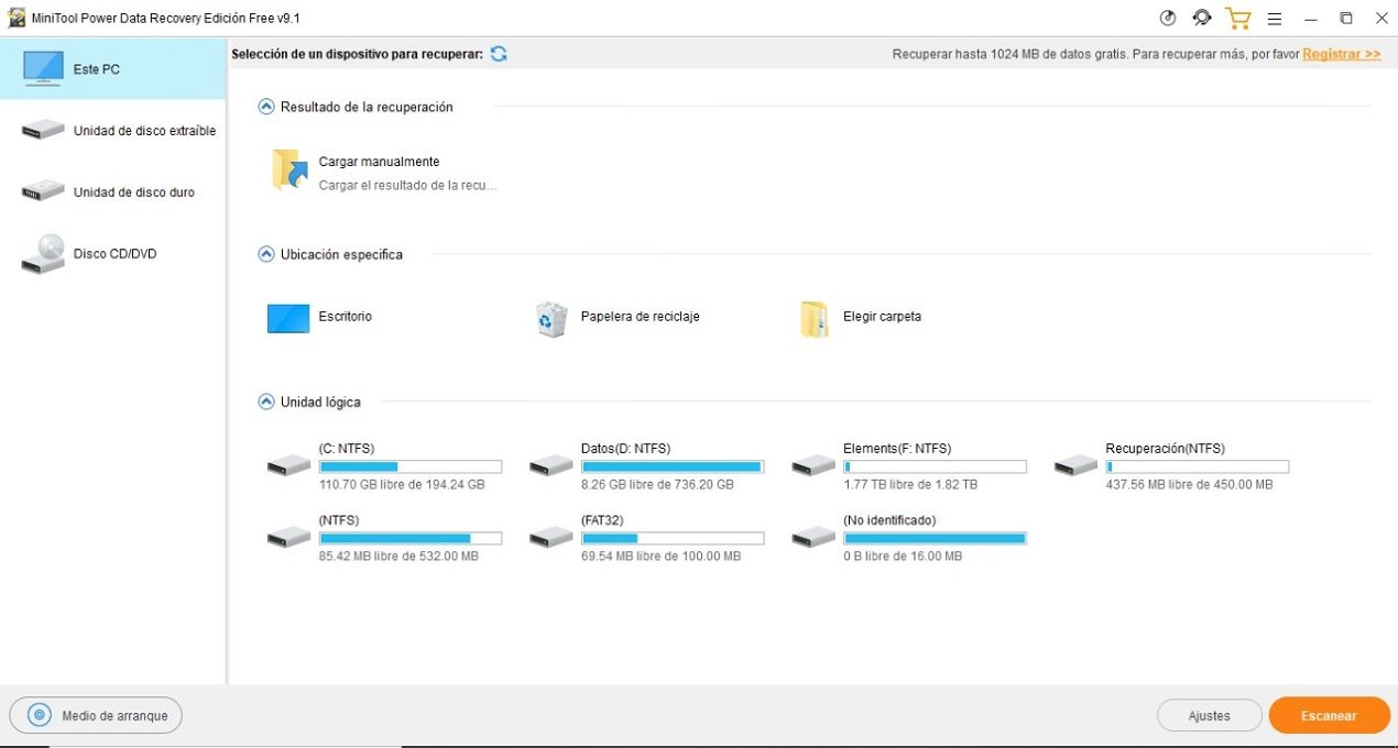 Power Data Recovery 3