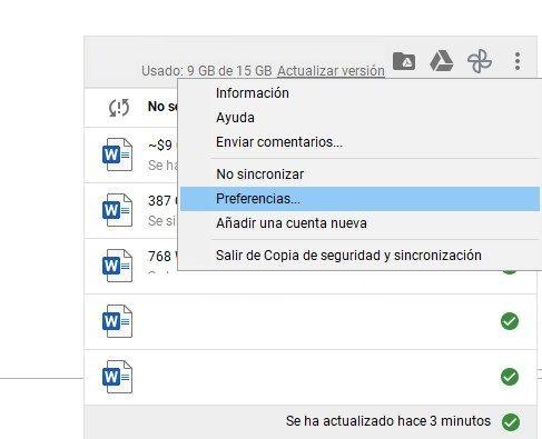 Cómo cambiar ubicación de carpeta Google Drive