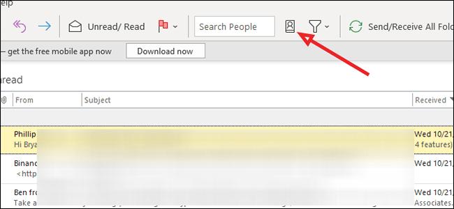 Comment utiliser la fonction vCard dans Outlook