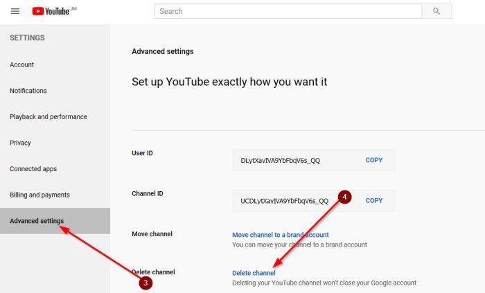 Cómo eliminar canal de YouTube para siempre