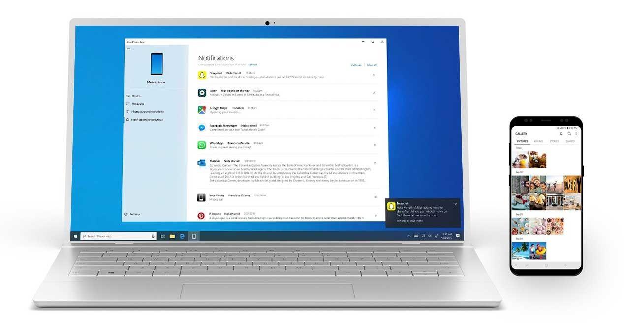 Mostrar las notificaciones de Android en Windows 10