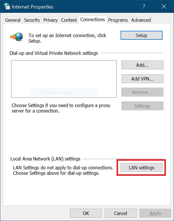 Cómo desactivar proxy para solucionar error de la Tienda de Windows 10