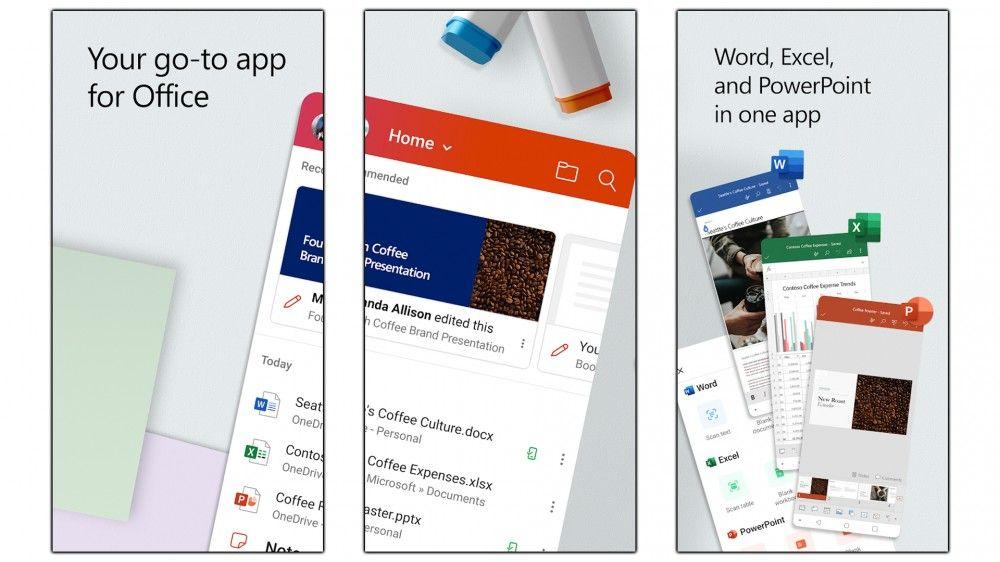 Office 365 funciona mucho mejor en Android
