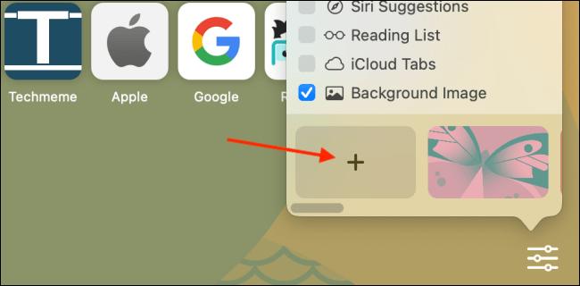 Añadir imagen personalizada como fondo en Safari