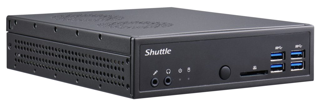Shuttle introduce nuevo PC compacto Ryzer con salida hasta 3 monitores