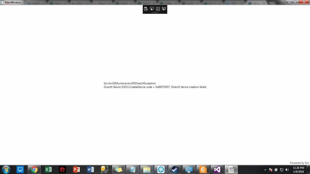 DirectX no puede inicializar 1