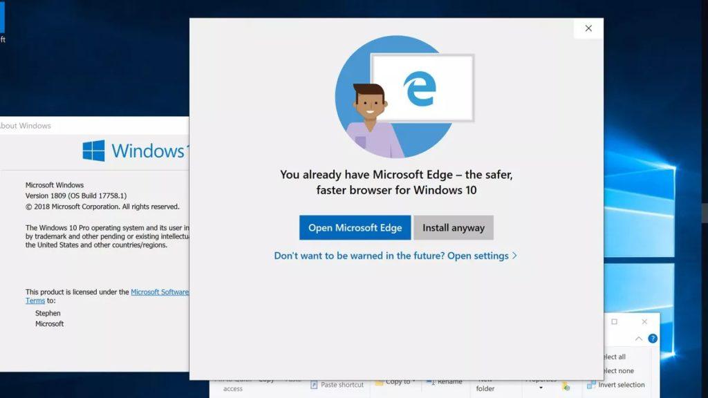 Microsoft Edge no abre 3