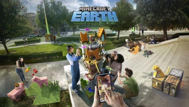 En junio cerrará Minecraft Earth