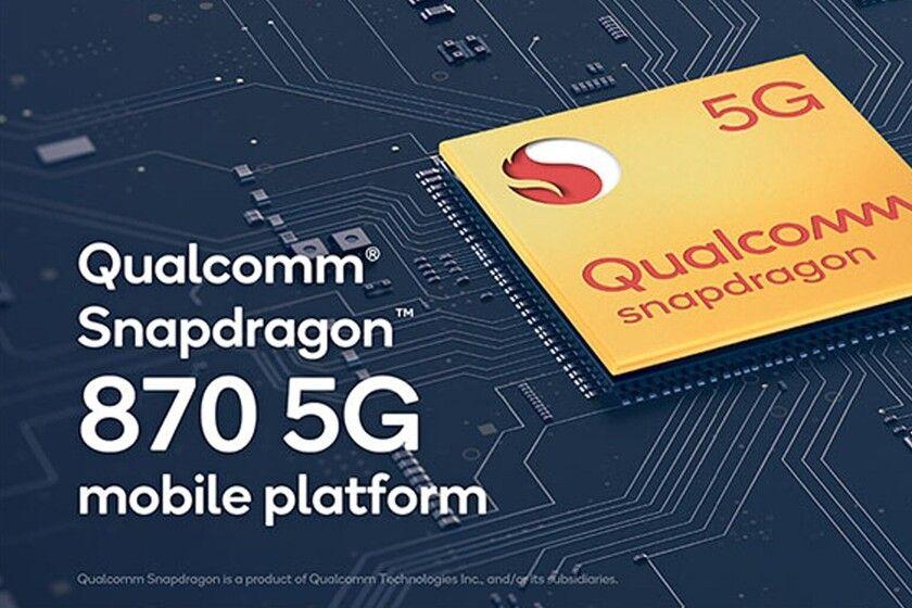 El Snapdragon 870 de Qualcomm es una versión mejorada del año pasado