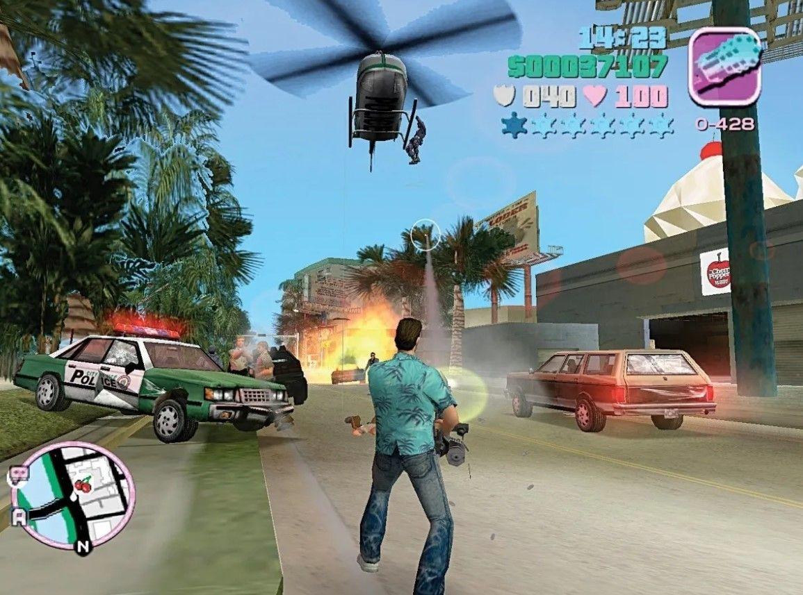 Lista de códigos secretos para GTA Vice City