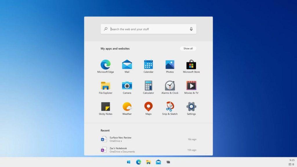 Primeras impresiones de la experiencia de uso de Windows 10X