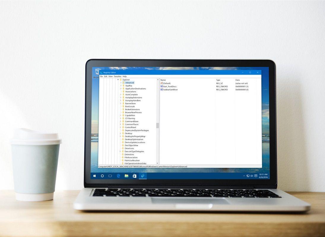 acelerar Windows 10 Regedit 1