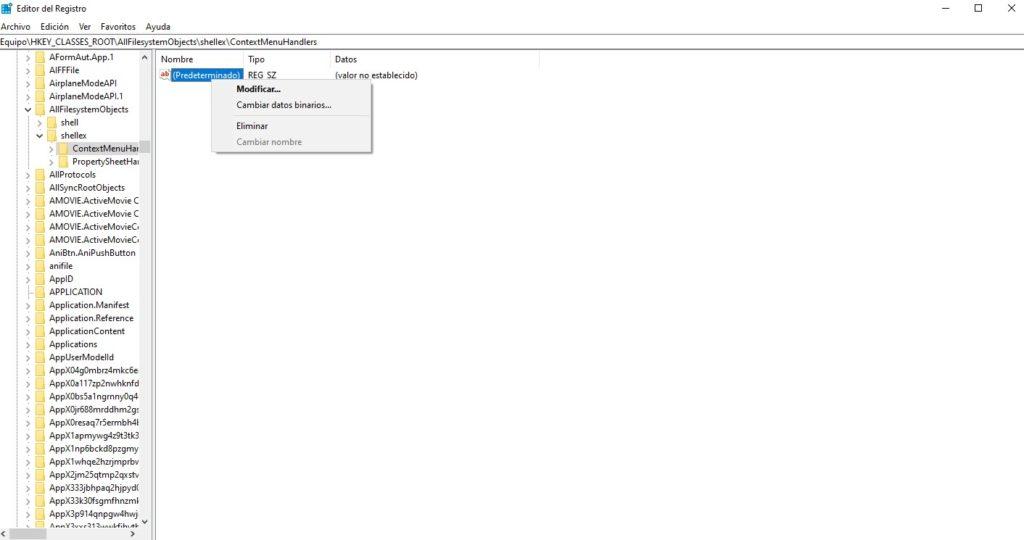 acelerar Windows 10 Regedit 3