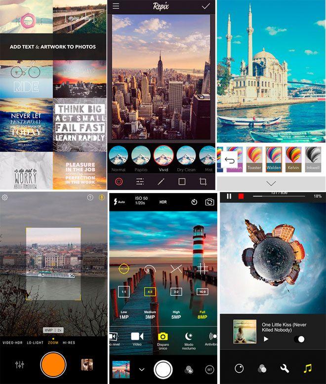 Mejores apps para edición de fotos en iPhone