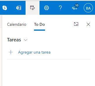 Cómo crear una tarea en Outlook.com