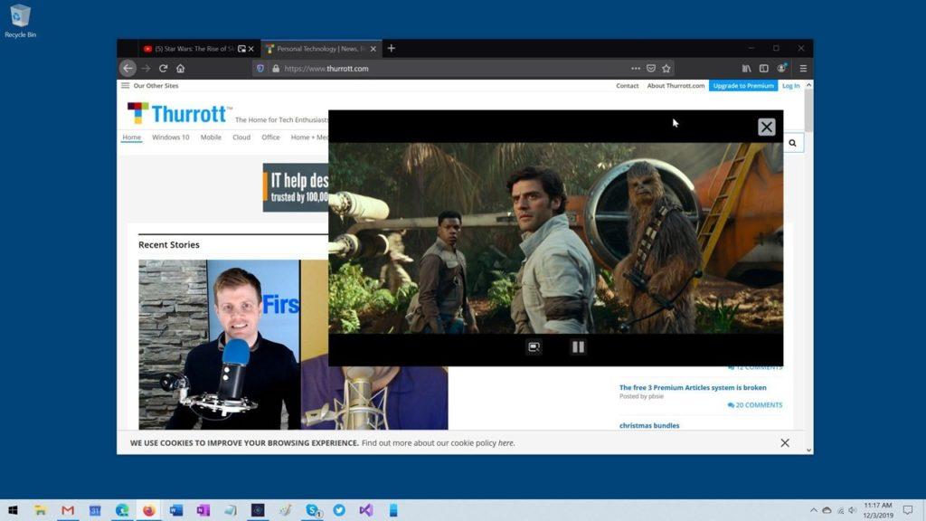 Cómo activar el reproductor de vídeo flotante PiP en Firefox