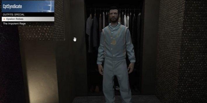 Como conseguir trajes secretos de Epsilon en GTA Online