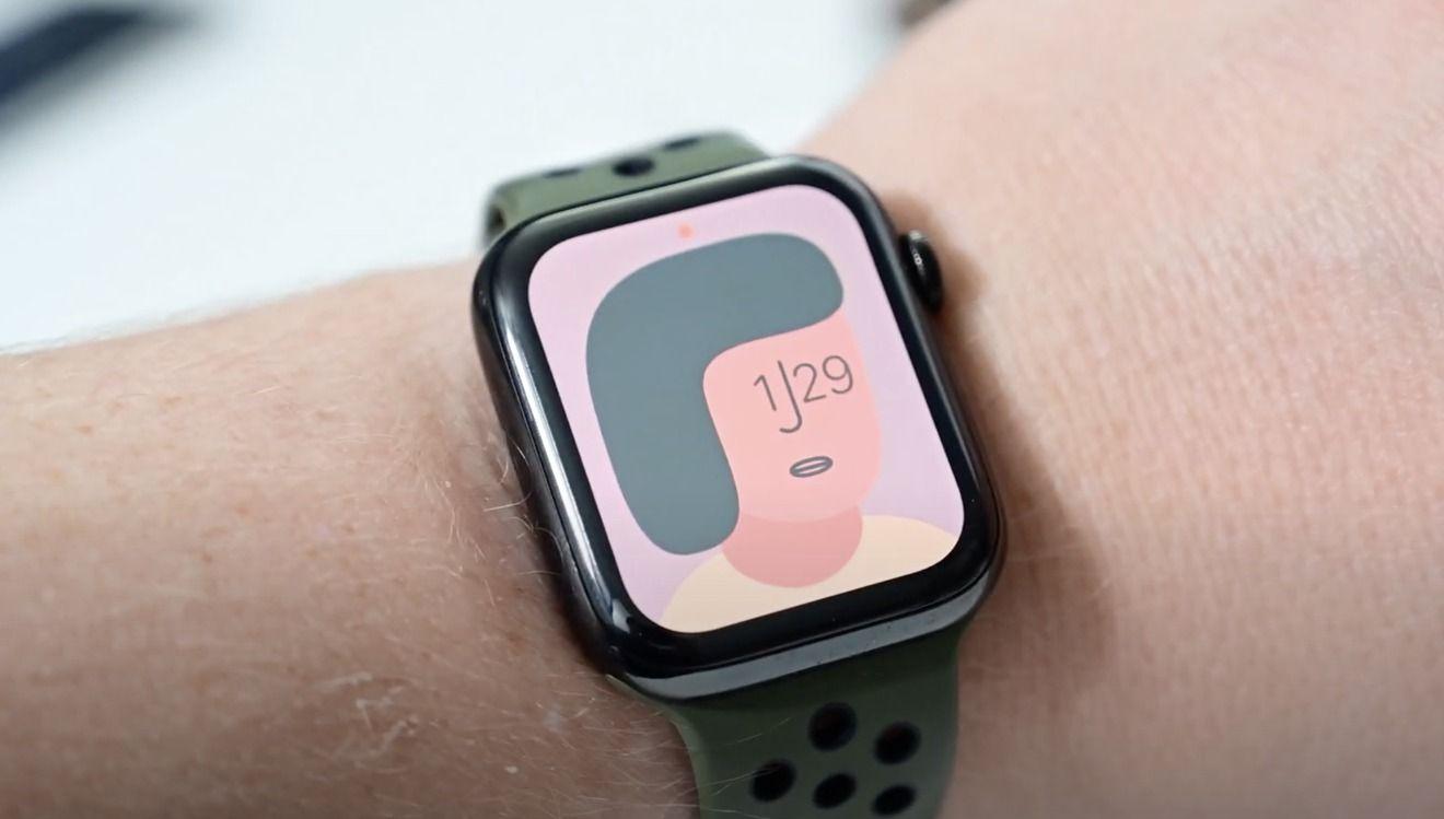 eliminar esfera Apple Watch 1