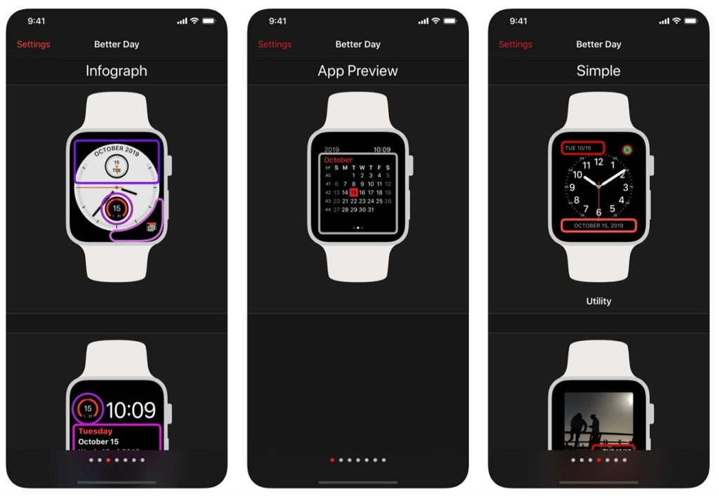 eliminar esfera Apple Watch 3