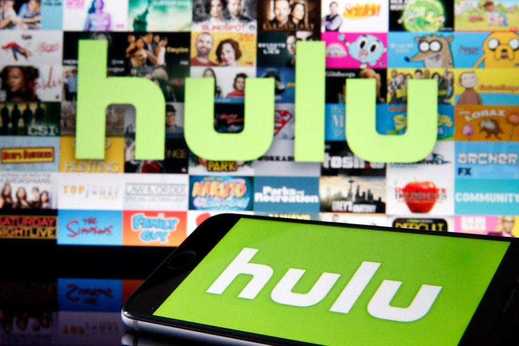 Hulu, televisión en vivo, peliculas y series.