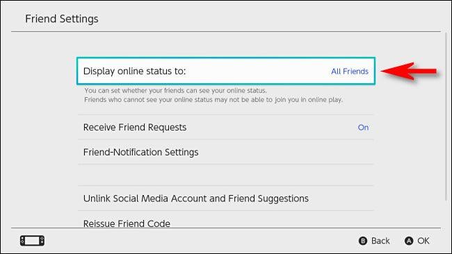 Configurar para jugar sin aparecer en línea