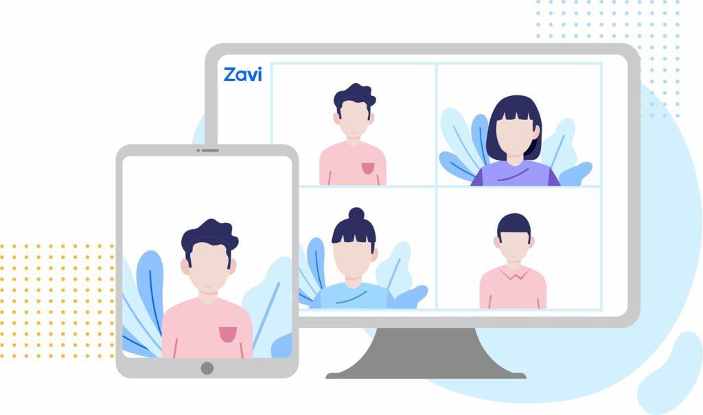 ¿Cómo usar ZAVI para tener reuniones en línea?