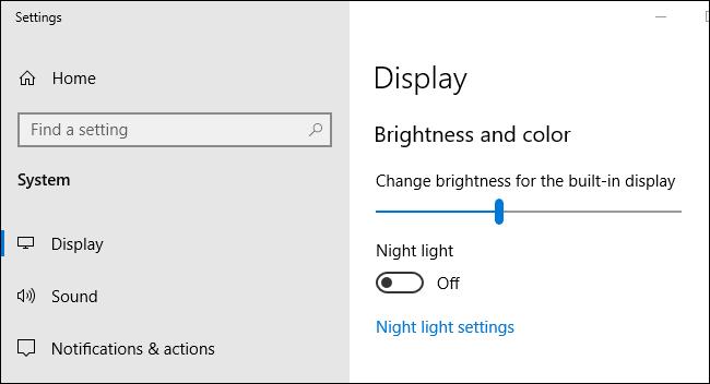 Ajustar brillo de forma automatica