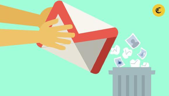 eliminar correos no deseados