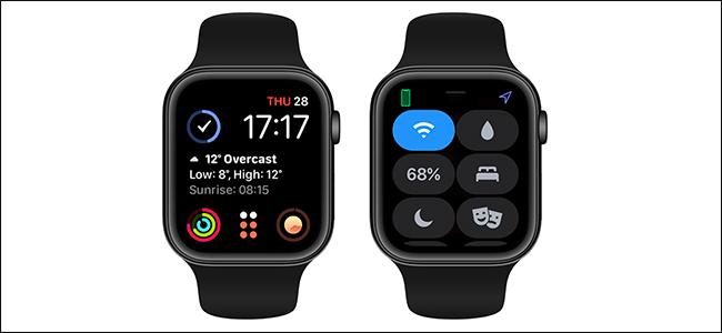 Personalizar centro control apple watch