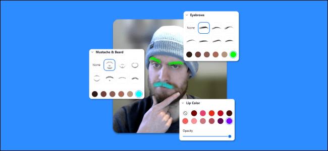 Cómo aplicar efectos faciales 3D en zoom