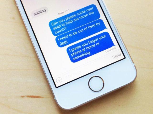 Eliminar automáticamente mensajes de texto antiguos en iPhone