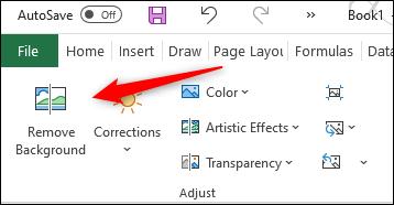 Eliminar fondo de una imagen en Excel