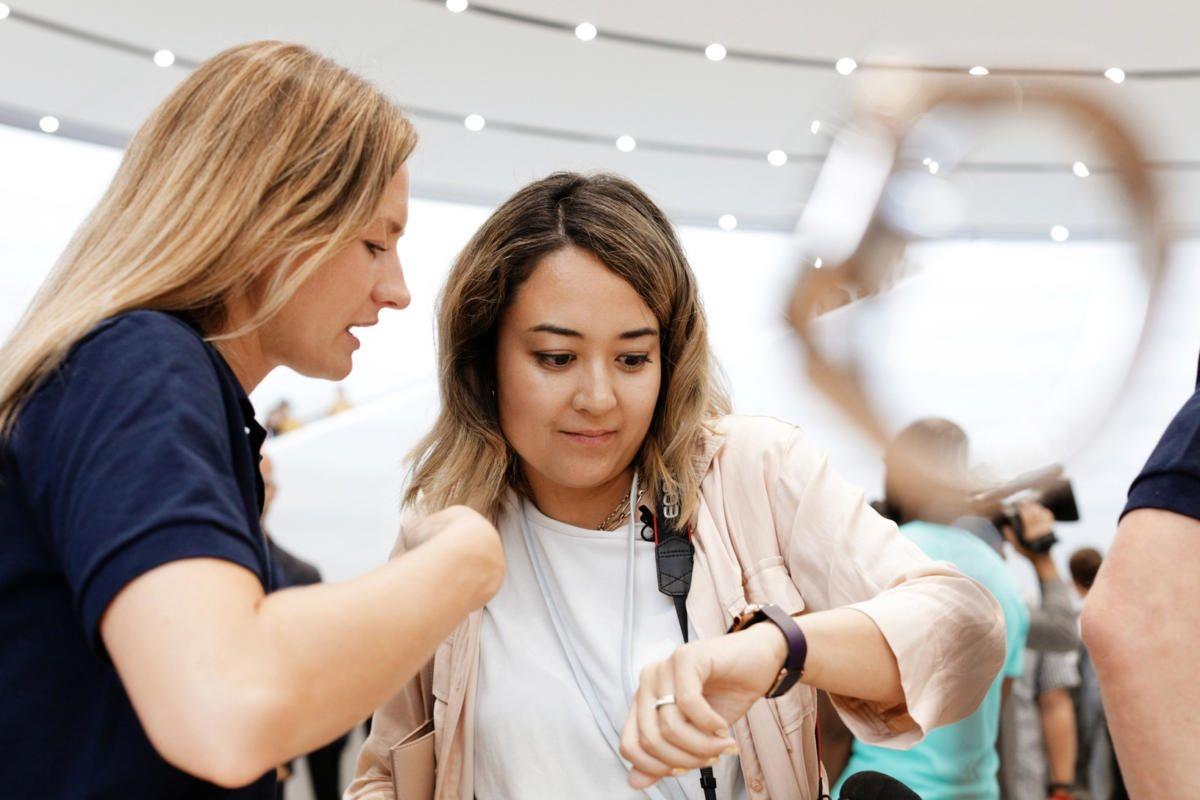 transferir llamadas Apple Watch iPhone 1