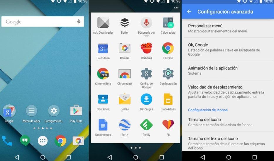 Apex Launcher es un clásico cuando hablamos de lanzadores para Android.