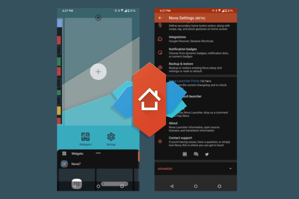 Nova Launcher es uno de los mejores lanzadores de Android.