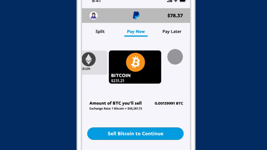 PayPal Bitcoin Checkout with Crypto 2
