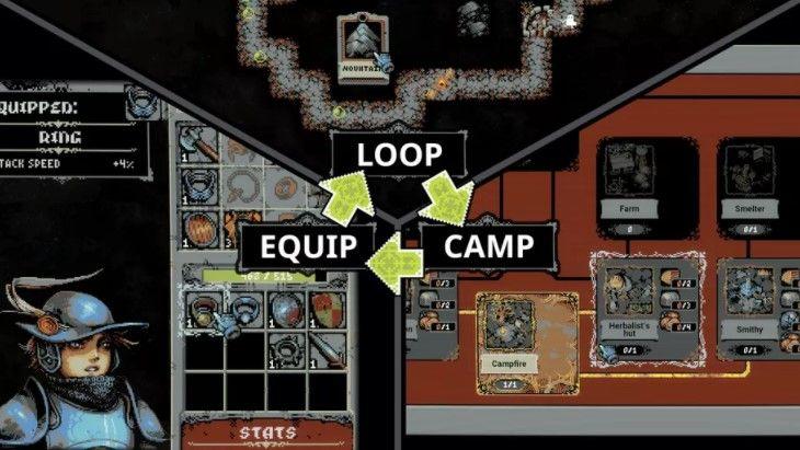 Aprovecha al máximo los roles en Loop Hero.