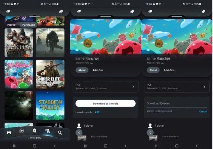 Cómo comprar y descargar juegos PS5 en Android.